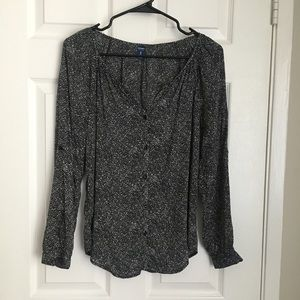 Old Navy Speckled Blouse
